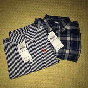 NWT Polo by Ralph Lauren Shirt Bundle Kid Sz 24M